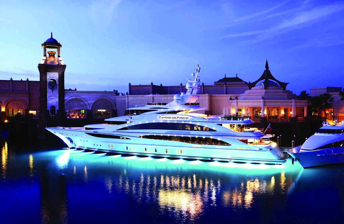 Diamonds Are Forever - Luxury Bond-themed Charter Yacht